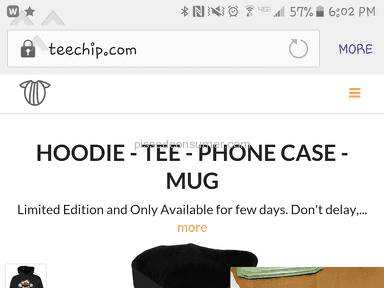 TeeChip-horrible product and the worst customer service