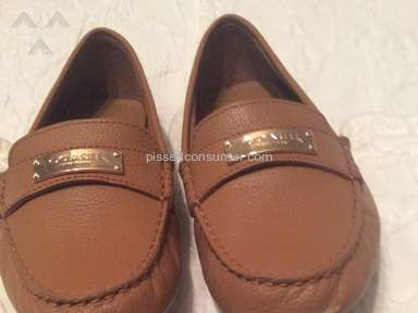 Coach loafers.