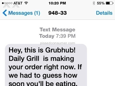 Grubhub Ruined Our Night