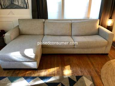 West Elm - Henry Sofa Sleeper Fail