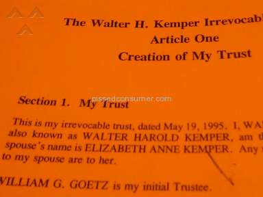 Law Offices Of J Louis Kurtzer - Millions stolen from families living trust
