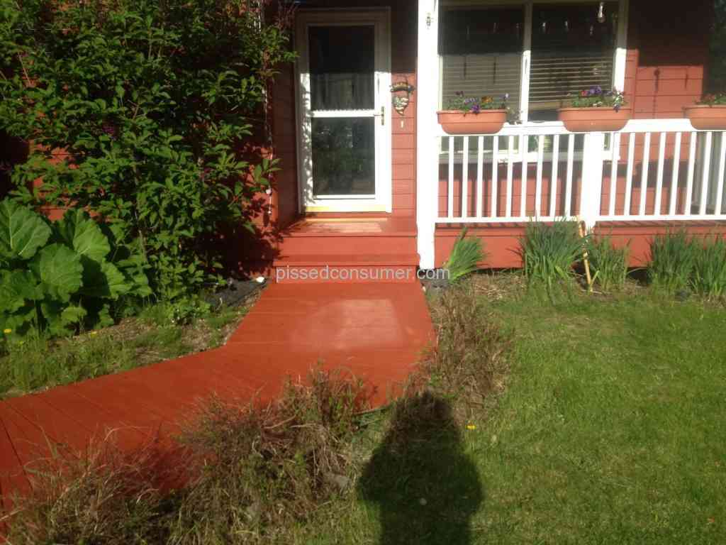 Behr Deckover Paint Review From Palmer Alaska Jun 03 2015 Pissed Consumer