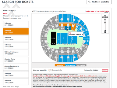 Ticketmaster Impact Festival Event Ticket review 215458