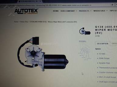 Thor Motor Coach - Wiper Motor Problems By Wexco Serious Safety Issue Should Be A Recall!!!