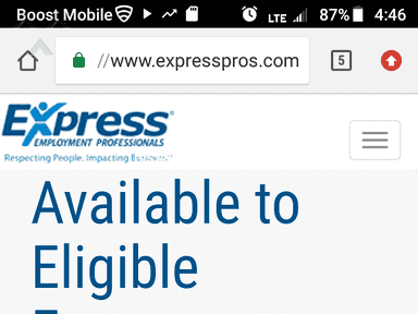 Express Employment Professionals Job Search and Employment review 323118