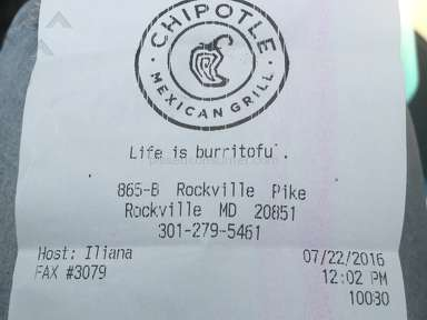 Chipotle - Simple Review #1469209965