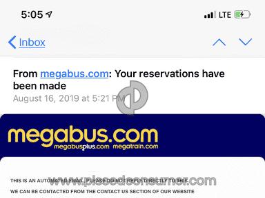 Megabus - Pissed!