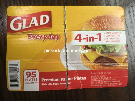Glad Everyday Premium Plate