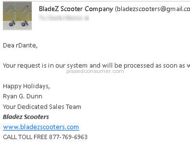 Bladez Scooters Equipment review 13825