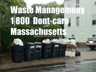 Waste Management Residential Waste Collection Review from Middleborough, Massachusetts