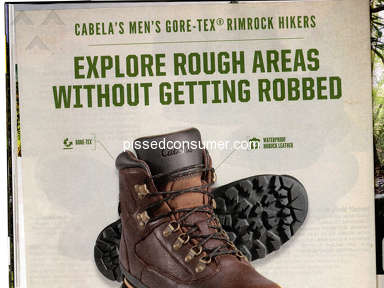 Cabelas - Won't honor catalog price