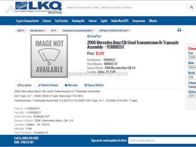 Lkq Corporation Transmission review 153958