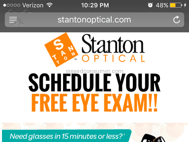 Stanton Optical Eyeframes Review from Anderson, Indiana