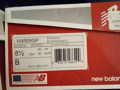 New Balance - Wx505gp Sneakers Review from Vero Beach, Florida