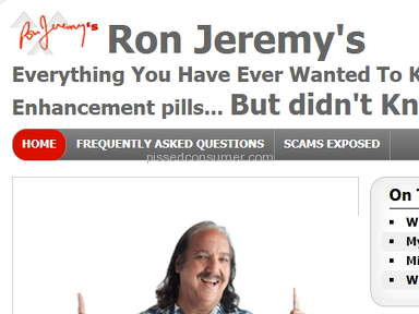 Ron Jeremy Reviews - Www.ron-jeremy-reviews.com review and complaint