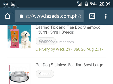 Lazada Philippines Delivery Service review 227498