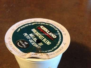 Costco - Kirkland Breakfast Blend Coffee K-Cup Pack Review from Toronto, Ontario
