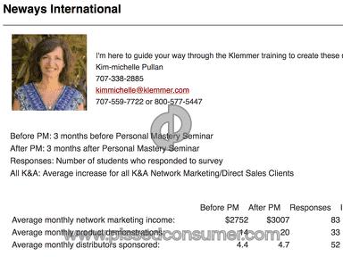 Klemmer And Associates Champions Workshop Seminar review 238650