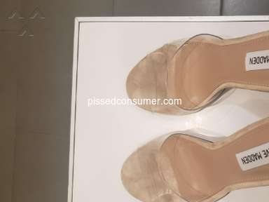 Steve Madden - Poor quality and wrong size shoes