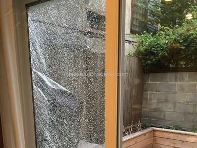 Marvin Windows And Doors - Spontaneous breakage of Marvin door glass