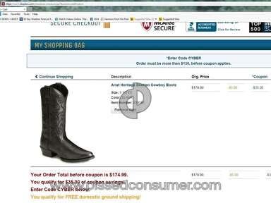 Sheplers Western Wear Boots review 55337