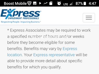 Express Employment Professionals Job Search and Employment review 323120