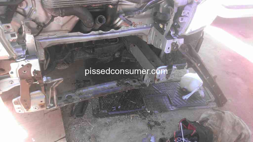 Be Forward - Received a Toyota Hiace 2KD that had an