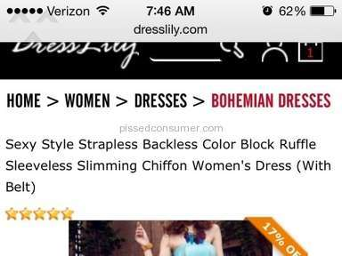 Dresslily Dress review 74901