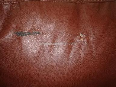 Peeling Leather Sofa from Ashley Furniture