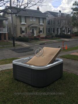 Barefoot Spas P-series Pl7 Hot Tub