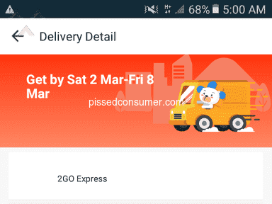 Lazada Philippines Express Delivery Service review 374290