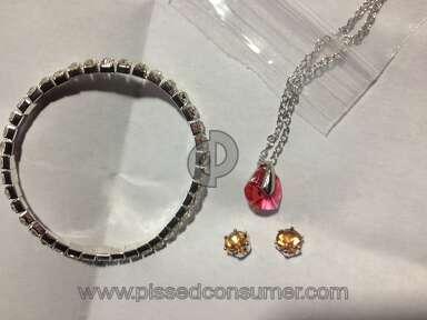 "Groupon - Swarovski Elements Three-Piece Jewelry Mystery Christmas Gift  ""JUNK"""