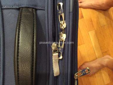 Samsonite - Only thing worse then the bag was the repair