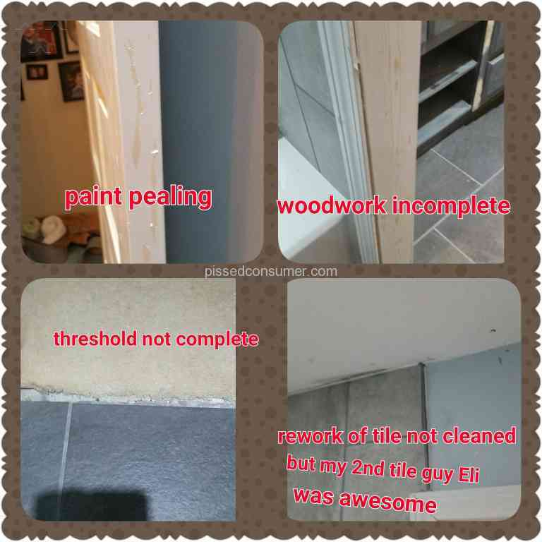 Widell Renovations Bathroom Remodeling Review Or Complaint - Angie's list bathroom remodeling