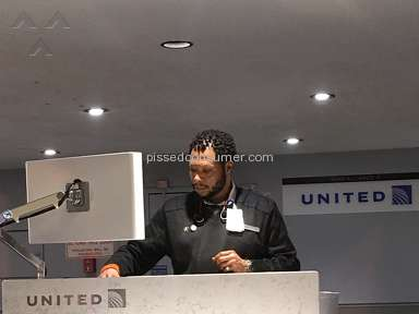 United Airlines - Rude worker