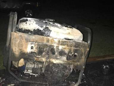 Northern Tool And Equipment - Brand New Generator Caught Fire Due to Gas Leak