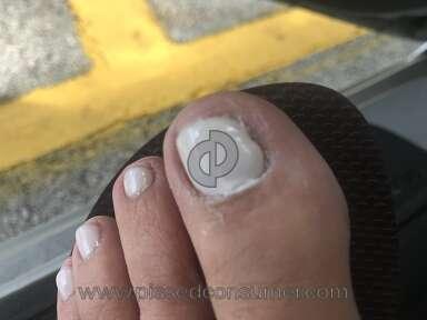 Regal Nails - Horrible pedicure