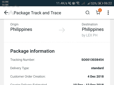 Lazada Philippines - Delivered status but order not received
