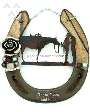 The Lucky Horse To The Moon And Back Horseshoe