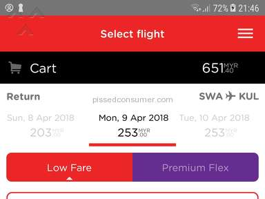 Air Asia Flight Booking review 256178