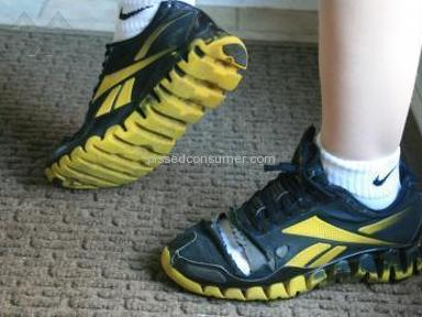 ccd4655261f Reebok Zig Tech poor quality high price! Sep 06, 2014 @ Pissed Consumer