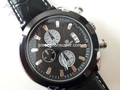 Gearbest - MEGIR M2020 Male Quartz Watch BLACK . Order No.:WB1712150547490159