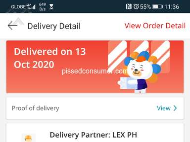 Lazada Philippines Lazada Express Philippines Courier Delivery Service review 791180