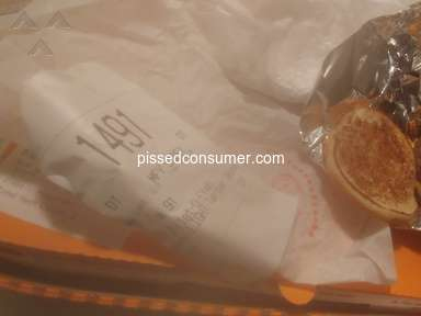 Mcdonalds - I ordered a filet of fish they gave me a mcdouble.