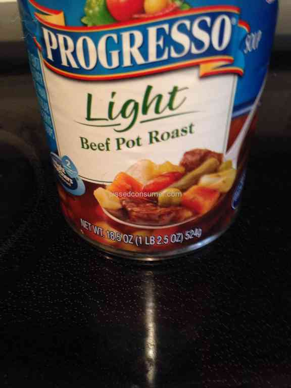 Progresso soup food poisoning