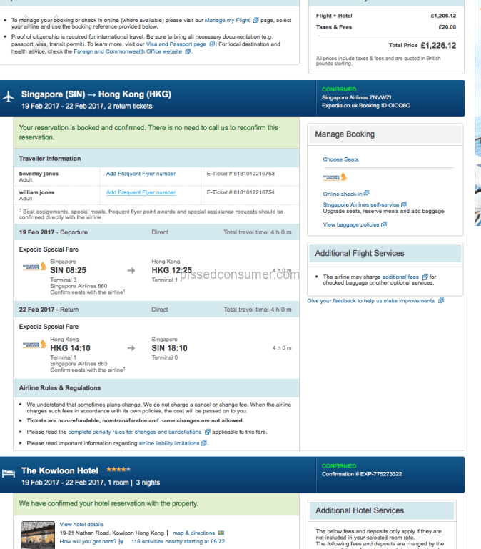 Bad review for Expedia - Bargain Travel Forum