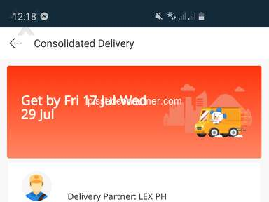 Lazada Philippines Shipping Service review 703799