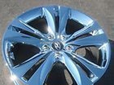 Paramount Wheels Plating - Awesome work from this chrome plater...