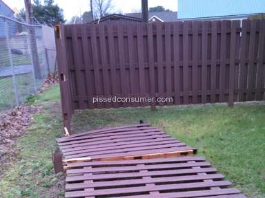 Lowes Fence Installation review 210582