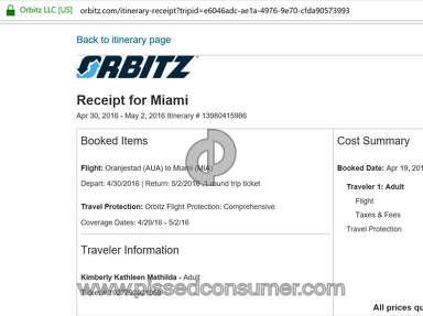 Orbitz Flight Booking review 130855